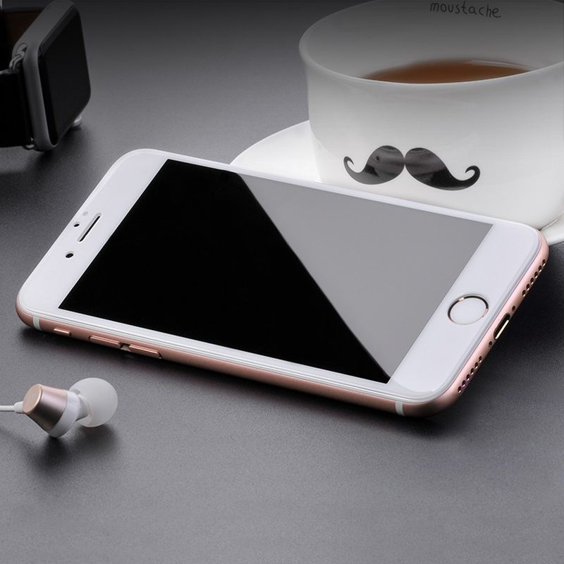 Original hoco. tempered glass G1 flash attach HD for iPhone 7/8