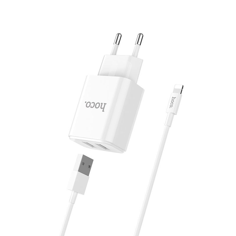 hoco. C62A charging set with lightning cable