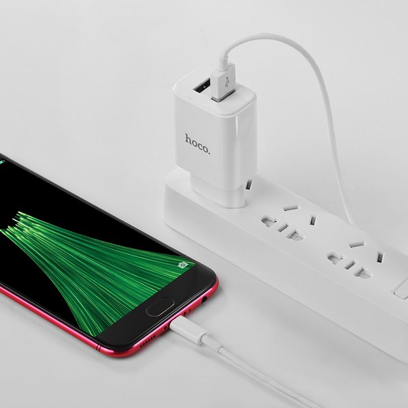 hoco. C62A charging set with microUSB cable