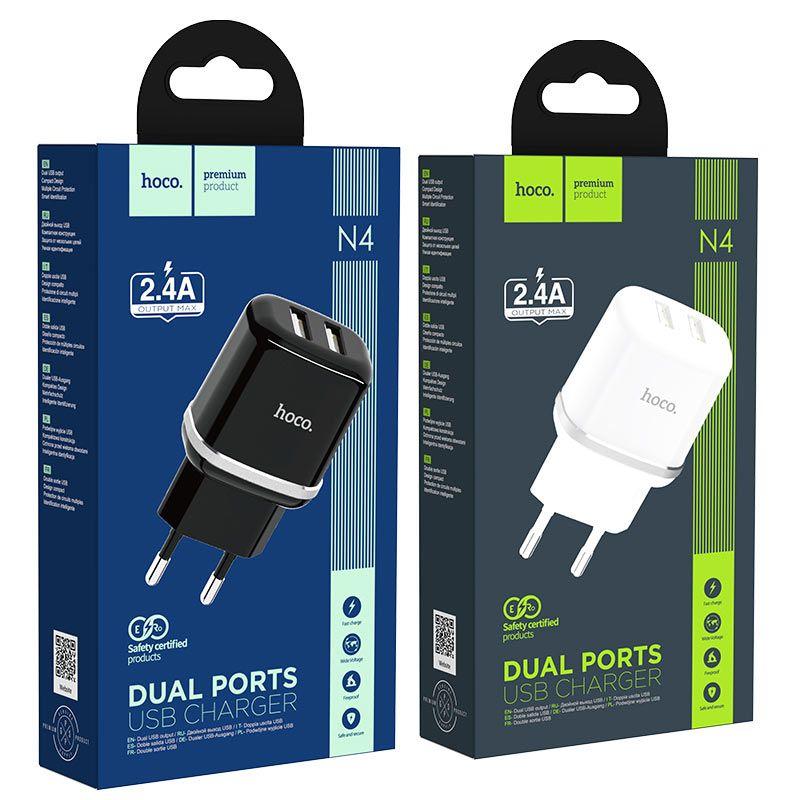 hoco. N4 dual USB nabíjačka