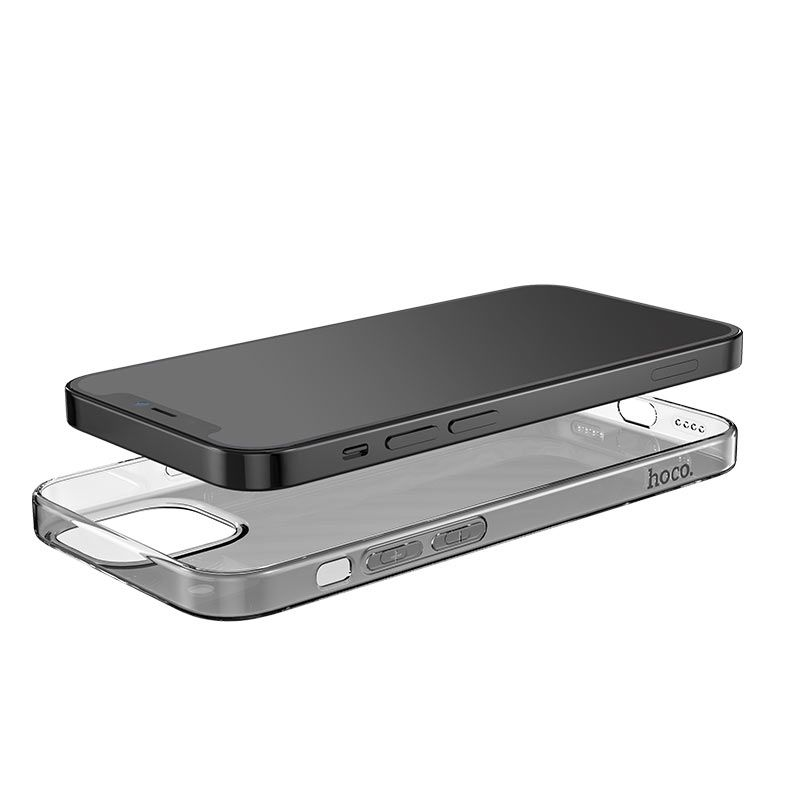 hoco. transparent smartphone cover light series for iPhone 12 /