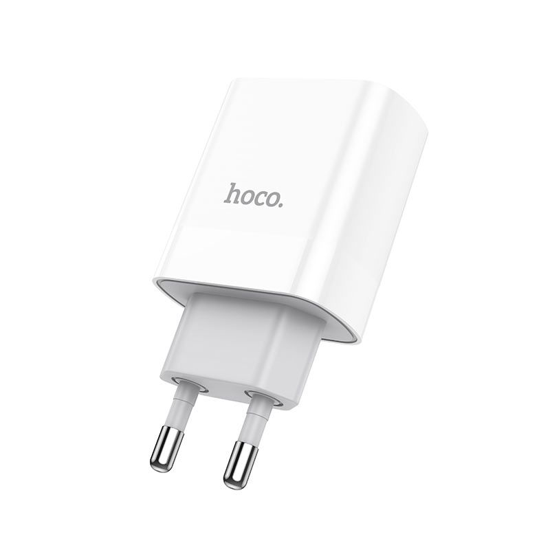 hoco. C80A 18W rapid charger QC3.0, QC2.0, FCP, AFC with type-c