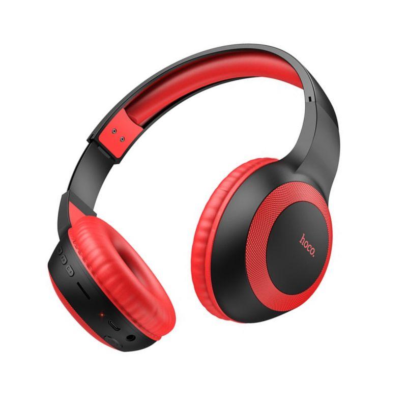 Original hoco. W29 wireless headset black, red