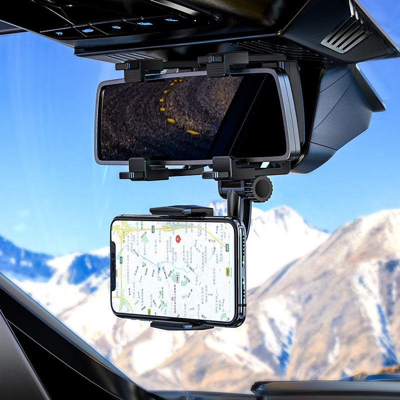 Original hoco. CA70 smartphone holder for rearview mirror black