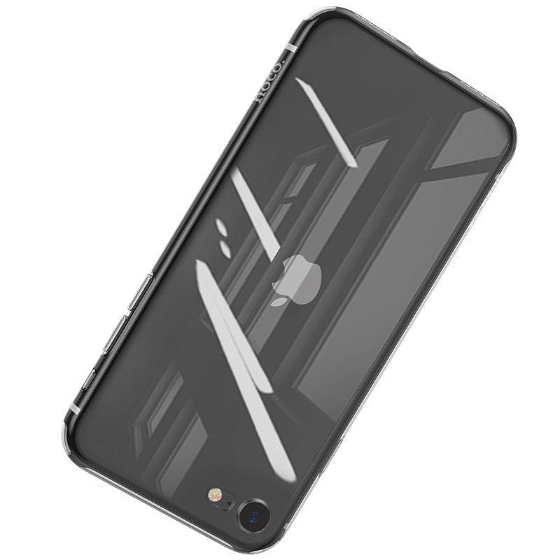 hoco. transparent smartphone cover light series for iPhone 7, 8, SE 2020