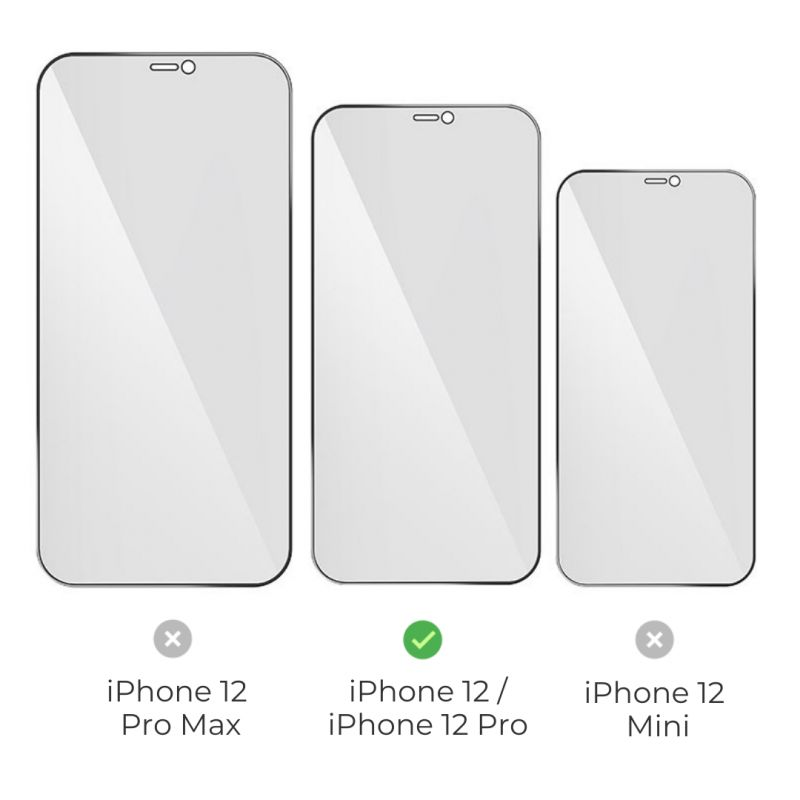 hoco. tempered glass A21 anti-spy for iPhone 12 / 12 Pro