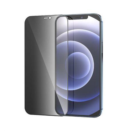 hoco. ochranné temperované sklo A21 anti-spy pre iPhone 12 / 12