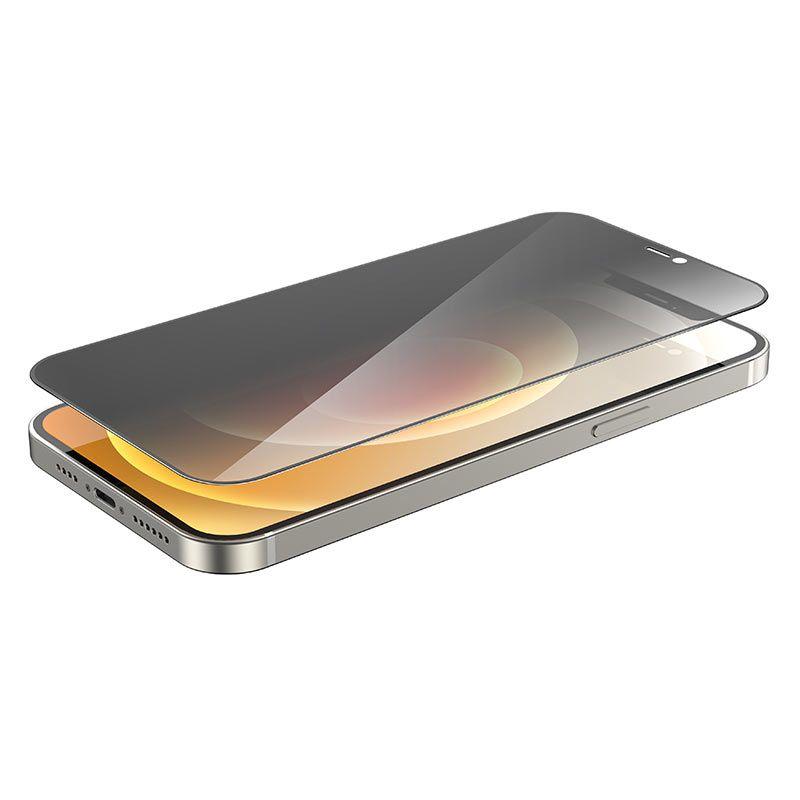 hoco. ochranné temperované sklo A21 anti-spy pre iPhone 12 Pro