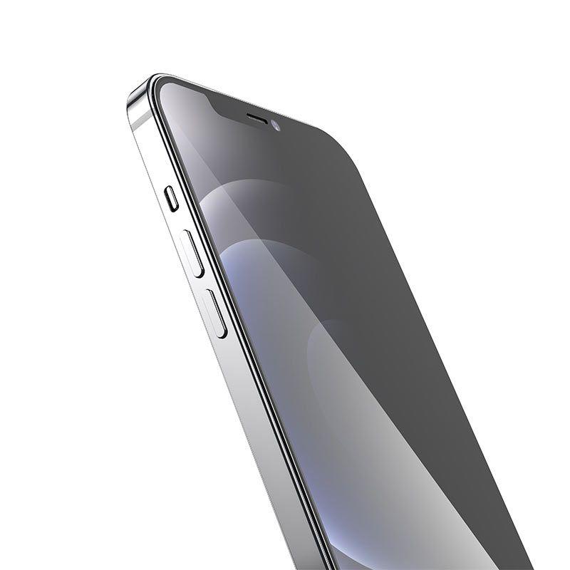 hoco. ochranné temperované sklo A21 anti-spy pre iPhone 12 Mini
