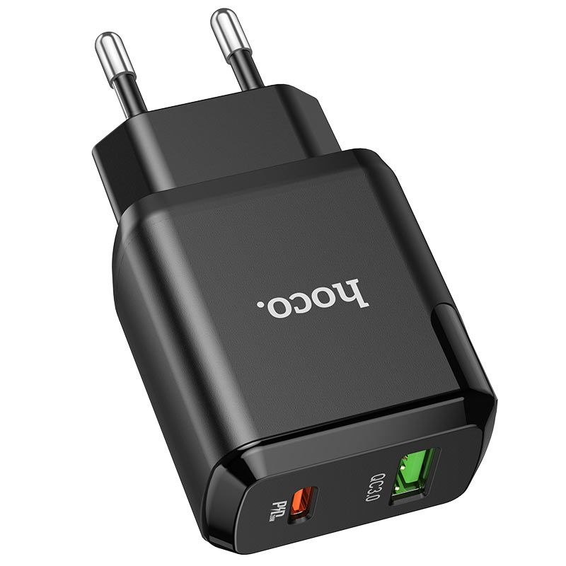 hoco. N5 20W dual port fast charger