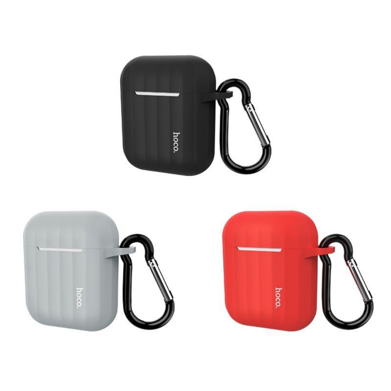 Original hoco. WB10 protective case for Airpod earphones red