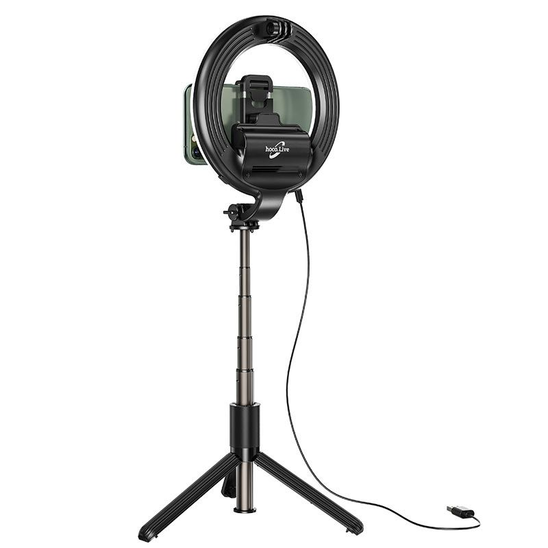 Original hoco. LV03 2in1 tripod and selfie stick with ring